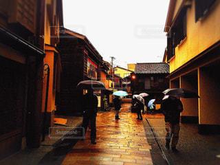 雨の写真・画像素材[555624]