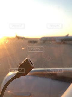 夕日の写真・画像素材[552993]