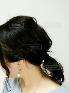 およばれヘアの写真・画像素材[1099167]