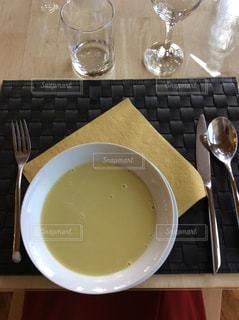 スープの写真・画像素材[554837]