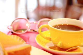 カフェの写真・画像素材[555594]