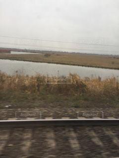 シベリア鉄道の車窓の写真・画像素材[805438]