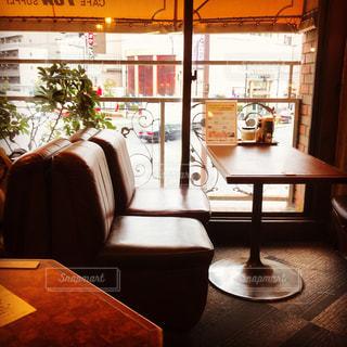 喫茶店にての写真・画像素材[1179181]