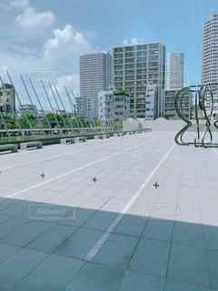 都市の高い建物の写真・画像素材[3496306]