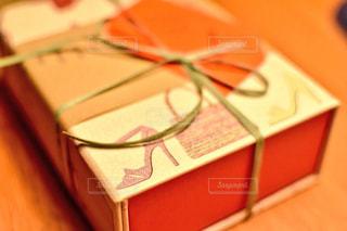 紙製メモボックスの写真・画像素材[1016310]