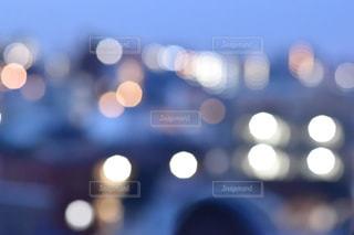 夜明け前の夜景の写真・画像素材[1026949]