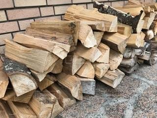 木製テーブルの写真・画像素材[1381350]
