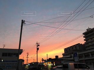 夕日の写真・画像素材[559752]