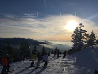 焼額山スキー場の写真・画像素材[1146004]