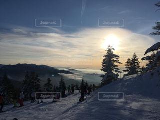 焼額山スキー場の写真・画像素材[1146010]