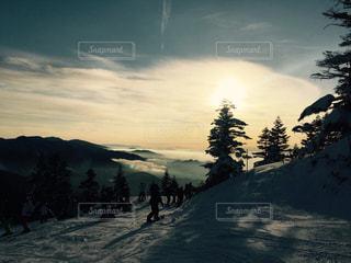 焼額山スキー場の写真・画像素材[1146011]