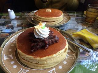 ホットケーキの写真・画像素材[1073292]
