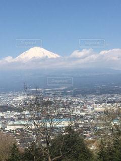 富士山と雲の写真・画像素材[2430719]