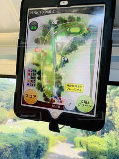 ゴルフ ナビ iPadの写真・画像素材[1503823]