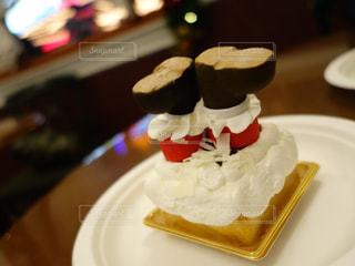 クリスマス ケーキ スイーツ サンタクロースの写真・画像素材[1559186]