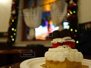 クリスマス ケーキ スイーツ サンタクロースの写真・画像素材[1559187]