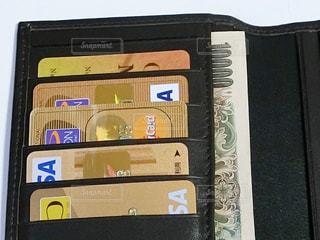 財布の中身の写真・画像素材[1561144]