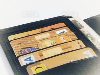 財布の中身の写真・画像素材[1561145]