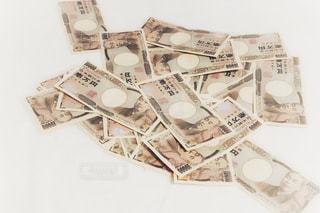 お金 日本円 札束の写真・画像素材[1626043]