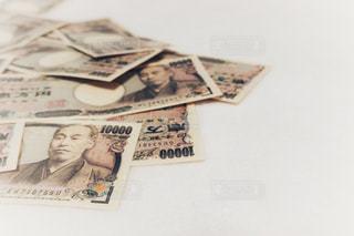 お金 日本円 札束の写真・画像素材[1626044]