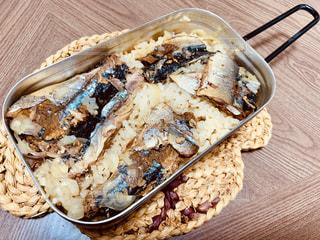 メスティン さんま蒲焼き 炊き込みご飯 飯ごうの写真・画像素材[1822818]