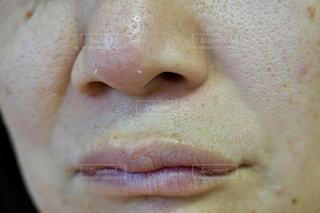 毛穴 角栓 鼻の写真・画像素材[2227965]