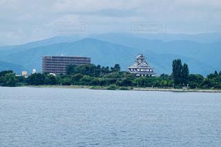琵琶湖 長浜城 滋賀県の写真・画像素材[2453755]