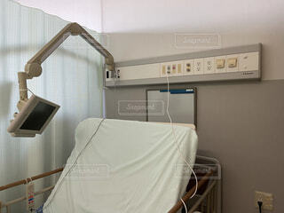 入院 病室の写真・画像素材[4081599]