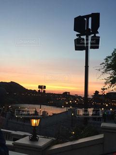 夕日の写真・画像素材[598300]
