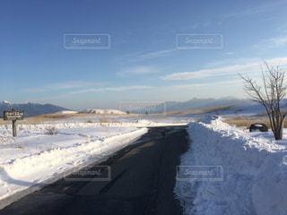 雪に覆われた道 - No.1017329