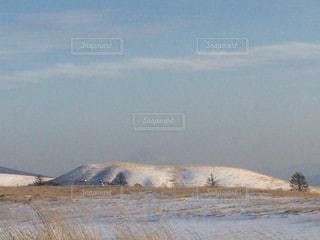 背景の山と水体 - No.1017336