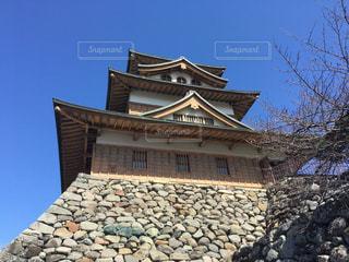 高島城の写真・画像素材[1040536]