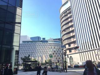 長野県 大阪市 駅前の写真・画像素材[1606088]