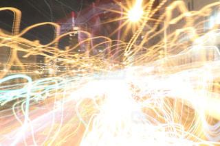 空に花火の写真・画像素材[813341]