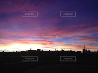 夕日の写真・画像素材[576700]