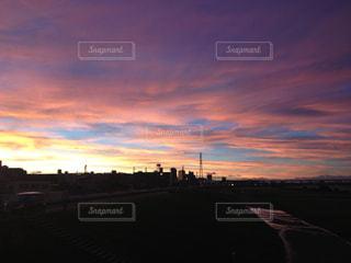 夕日の写真・画像素材[576702]