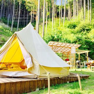 おしゃれキャンプの写真・画像素材[571976]