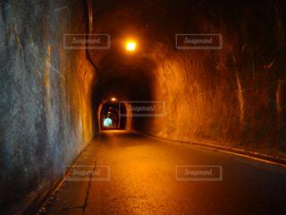 旧道のトンネルの写真・画像素材[798840]