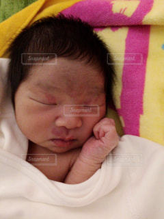 赤ちゃんの写真・画像素材[599280]