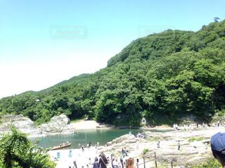 長瀞、ながとろ、長瀞駅、観光地、埼玉県の写真・画像素材[582708]