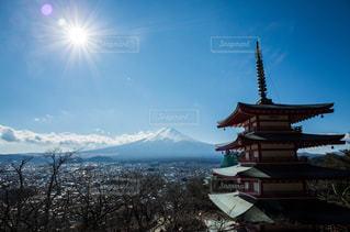 富士山の写真・画像素材[578778]
