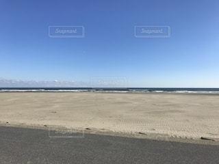 砂浜のビーチの写真・画像素材[1124396]