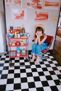 カフェの写真・画像素材[650373]
