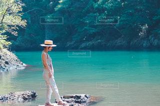 入江の写真・画像素材[2396726]