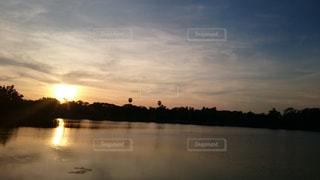 夕日の写真・画像素材[590742]