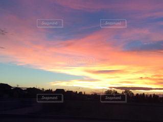 夕日の写真・画像素材[572026]