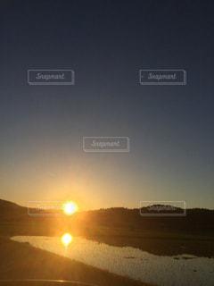 夕焼けの写真・画像素材[578320]