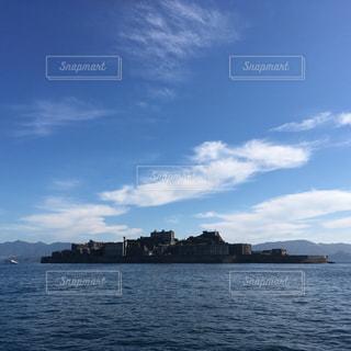 軍艦島②の写真・画像素材[571825]