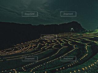 大規模な緑の風景の写真・画像素材[1288256]