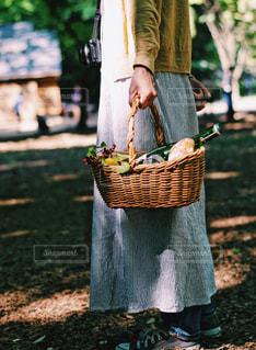 新緑の季節はピクニック!の写真・画像素材[2130340]